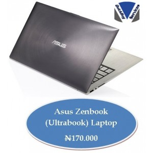 Quickbuy: Asus Zenbook (Ultrabook) Laptop