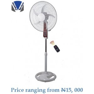 Quickbuy: Kornerstone Rechargeable Fan 18""