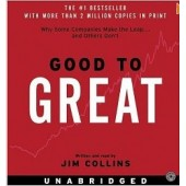 Good to Great CD: Why Some Companies Make the Leap...And Others Don't [Unabridged, Audiobook] by  Jim Collins