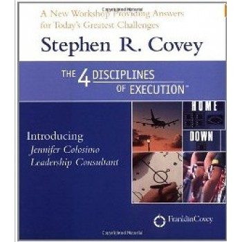 The 4 Disciples of Execution (Audiobook) by Stephen R. Covey, Jennifer Colosimo