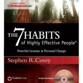 The 7 Habits of Highly Effective People: Powerful Lessons in Personal Change (Audiobook) by Stephen R. Covey