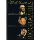World Greatest Biographies - George Washington,  Mary Queen of Scots, Colin Powell  by Willard Sterne Randall, Antonia Fraser, Colin Powell & Joseph E. Persico