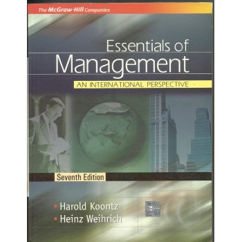 Essentials of Management by Harold Kootz, Heinz Weihrich