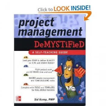 Project Management by Sid Kemp, PMP