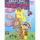 Great Big! Great Value! Great Fun!: Coloring & Activity Book Ages 3-5