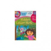 Hidden Letter Hunt Take Along Wipe Off Wookbook (Dora the Explorer)