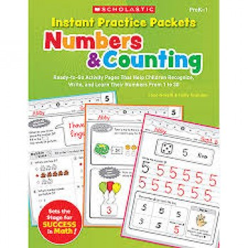 Numbers & Counting By Scholastic Teaching Resources