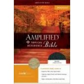 AMPLIFIED TOPICAL REFERENCE  BIBLE L/C BLK