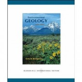 Environmental Geology 8th Edition Carla W. Montgomery