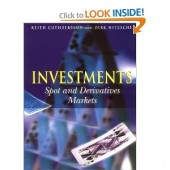 Investments: Spot and Derivative Markets by Keith Cuthbertson, Dirk Nitzsche