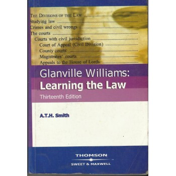 Glanville Williams: Learning The Law