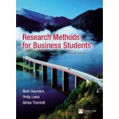 Research Methods for Business Students by Mark Saunders, Adrian Thornhill, Philip Lewis