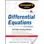 Schaum's Outline of Differential Equations, 3rd Edition by Richard Bronson, Gabriel B. Costa