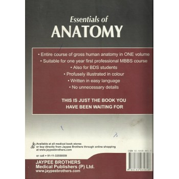 Essentials of Anatomy