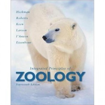 Integrated Principles of Zoology 14th Edition by Cleveland Hickman, Larry Roberts, Susan Keen, Allan Larson, Helen I'Anson, David Eisenhour