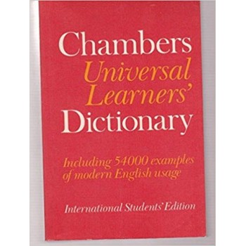 Chambers Universal Learners Dictionary
