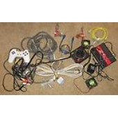 Computer Parts Partz Lot wholesale mix assorted wire usb Atari Play Station