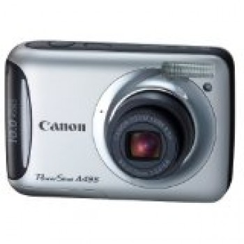 Canon PowerShot A495 10.0 MP Digital Camera with 3.3x Optical Zoom and 2.5-Inch LCD