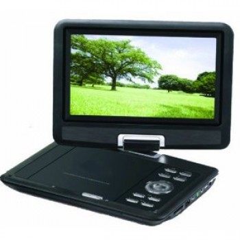 Sylvania SDVD9000B2/6 - 9-Inch Portable DVD Player with Car Bag/Kit, Swivel Screen, USB/SD Card Reader