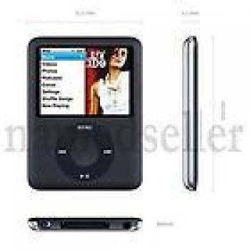 "MP4 MP3 FM Radio Video Media Player 8GB 3rd 1.8"" LCD"