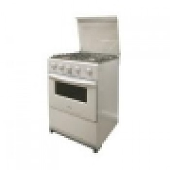 Budget 50x50 Stainless Steel Gas Cooker (3 Gas, 1 Electric)