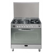 Scanfrost Gas Cooker 4 Gas Burner, 2 Electric Hot Plate