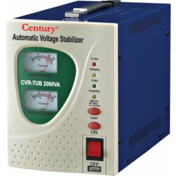 CENTURY STABILIZER CVR-TUB 2000VA