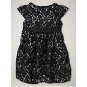 NWT Baby Gap Girl Clothes Op Black Lace Bubble Holiday Dress 5T