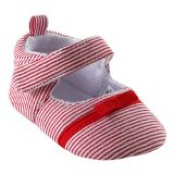 Luvable Friends Girl's Bow Dress Shoe for Baby
