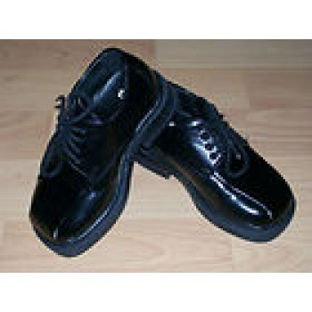 Baby/Toddler Boy's Size 5 TKS Black Dress Shoes