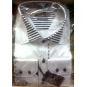 Molteno Black and White Stripe Shirt