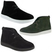 Mens Casual Suede Cadillac Lace Up Shoes Many Sizes & Colors to choose from