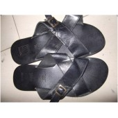 Vera Cuoio One Tracker Slippers - Size 43