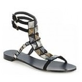 Ash Black Meena Women Sandals Size 6M / 37