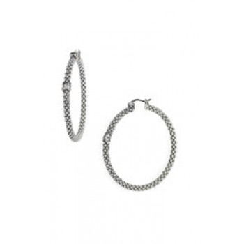 Thick Caviar™ Hoop Boxed Earrings