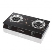Qasa Glass-Type Gas Cooker (2 Burners)