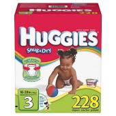 Carton of Huggies 228 stage 3