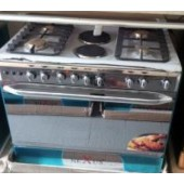 Nexus 4-Burner-2 Electric gas-cooker 60x90