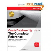 Oracle database 11g: The Complete Reference