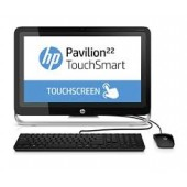 "HP Pavilion 22 All-in-One Touchscreen PC (Intel Core i3, 22"", 500 GB, 4 GB, Windows 8, Black)"