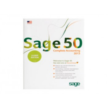 Sage 50 Accounting Software  2013