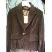Ladies Dark Brown Blazers/Jackets