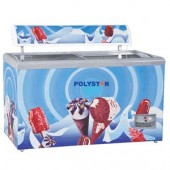 Polystar show case chest freezer 615Litres