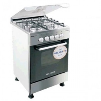 Polyster Gas Cooker 4 Burners