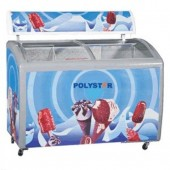 Polystar Showcase Freezer - PV-CSC500L