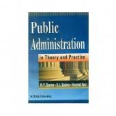 Public Administration in Theory and Practice M.P Sharma   B.L Sharma   B.L Sadana   Harpreet Kaur