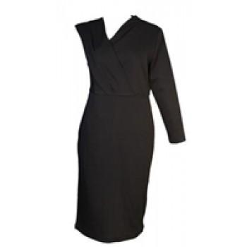 Black Monostrap Dress