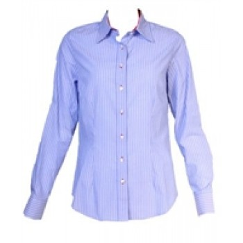 Blue & White Stripes Shirt