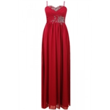 Coral Altar Studded Maxi Dress
