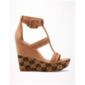 Fashion Buckled Wedges